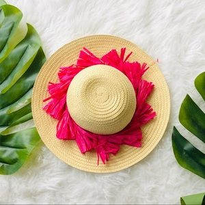 Girls Sun/Beach Hat One Size Fits Most